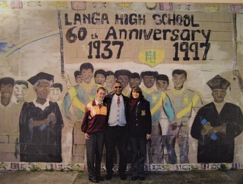 It was a privilege to be an exchange student at Langa High School in Cape Town