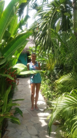 Enjoying the beautiful island Nusa Lembongan.