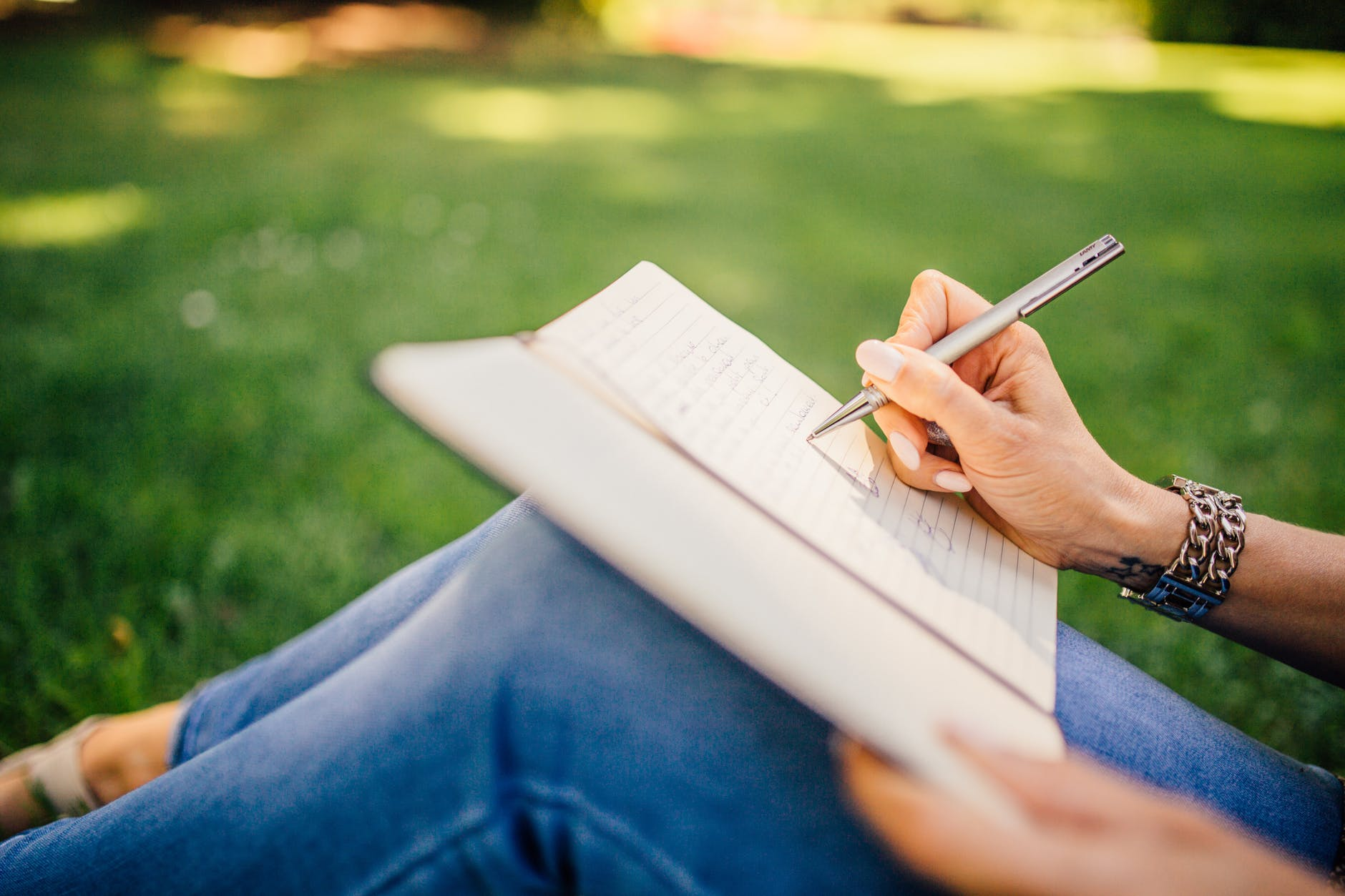 Take time for yourself by keeping a journal
