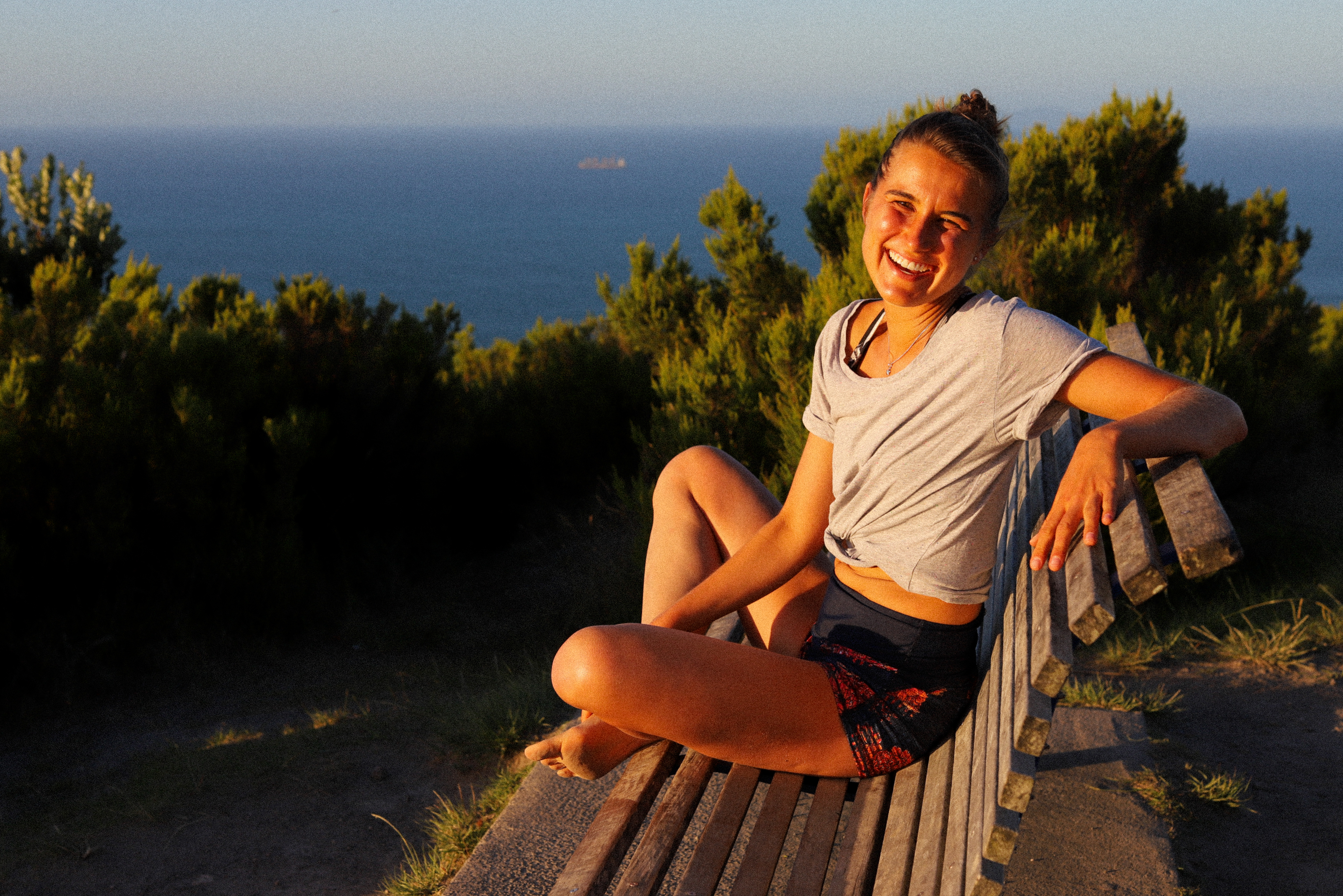 Happy days on top of the Mount in Tauranga, New Zealand.
